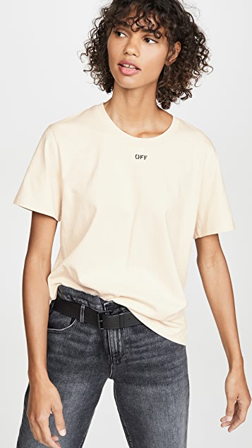Off-White Flowers Tee