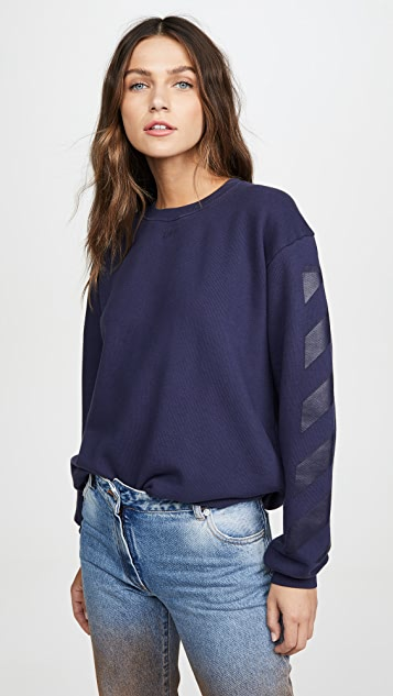Off-White Diagonal Sweatshirt