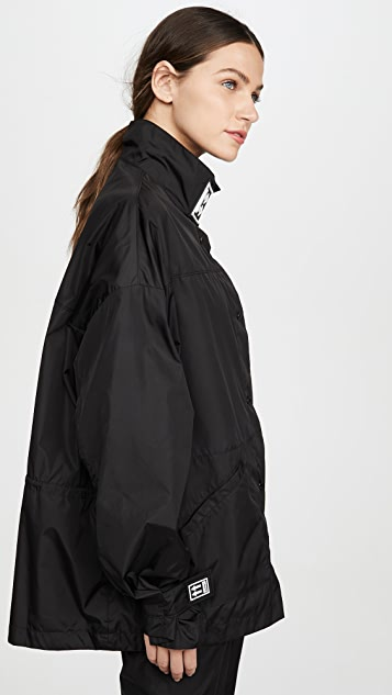 Off-White Short Track Coat