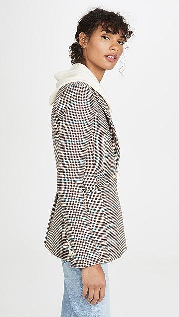 Off-White Check Slim Fit Blazer