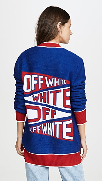 Off-White Off White Flag Cardigan