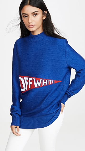 Off-White Off White Flag Crew Neck