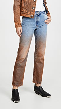 Degrade Crop Jeans