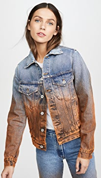 Degrade Denim Jacket
