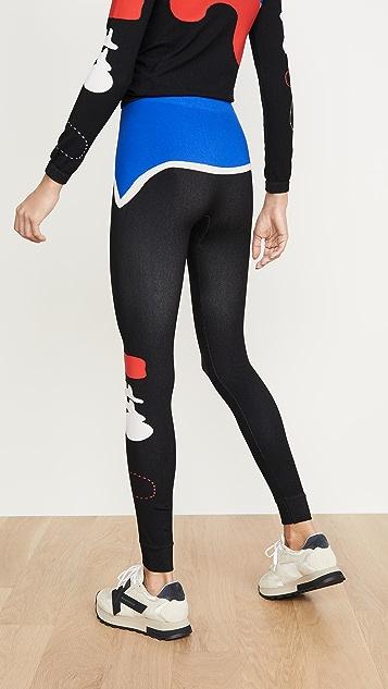 Off-White 有机形态贴腿裤