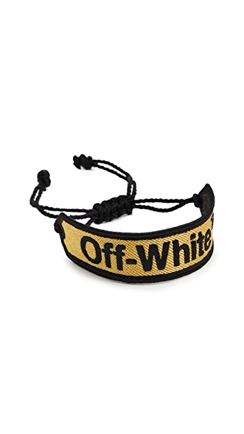 оттенок белого Белый браслет в технике макраме