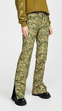 Ripstop Camo Carpenter Pants
