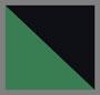 зеленовато-черный