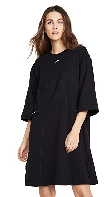 Off-White Coulisse T-Shirt Dress