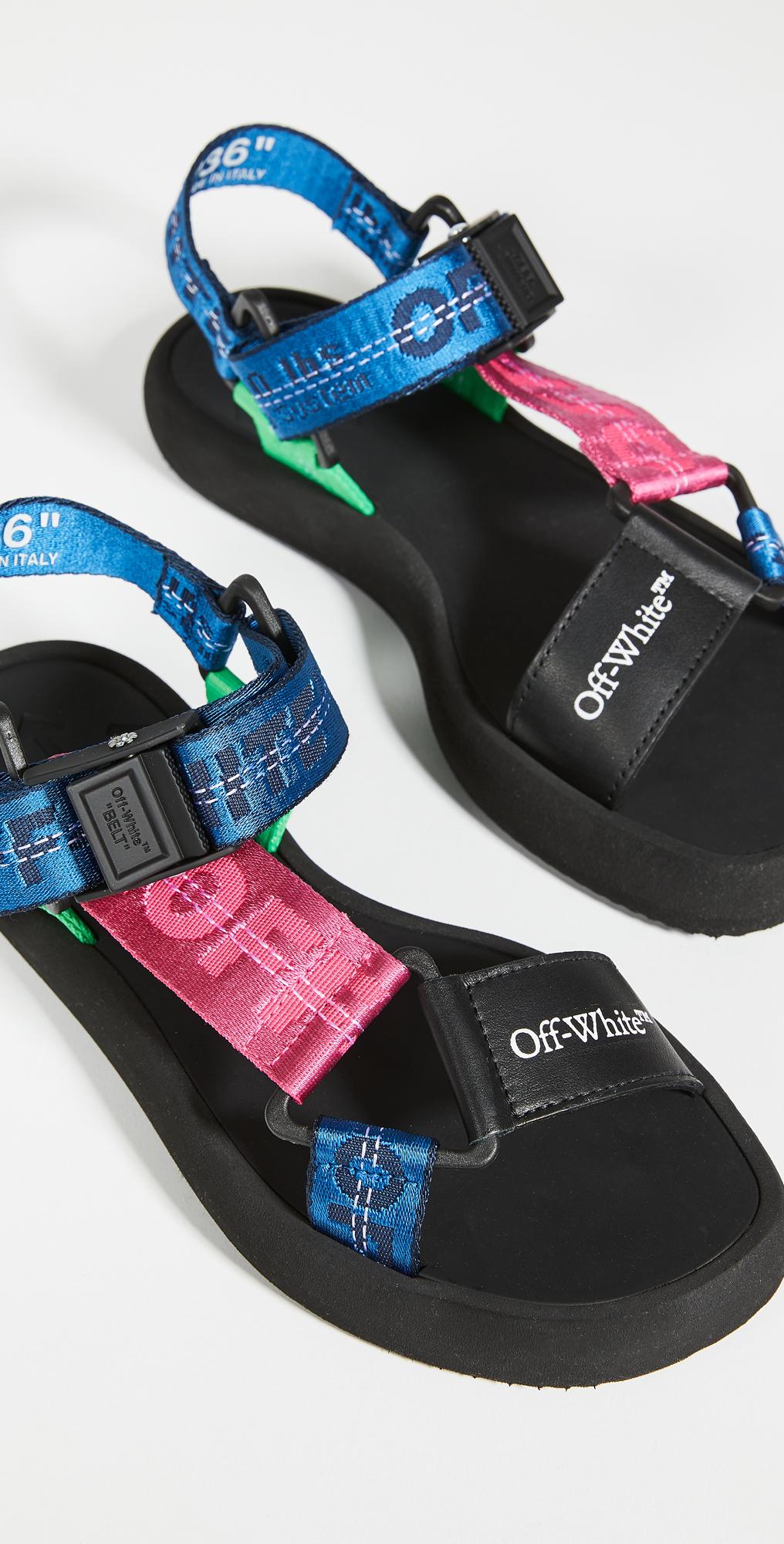 Off-White Multistrap Micro Trek Sandals