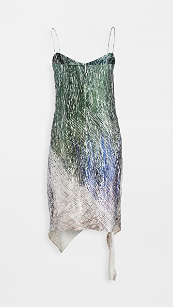 Off-White Bouroullec Spiral Slip Dress