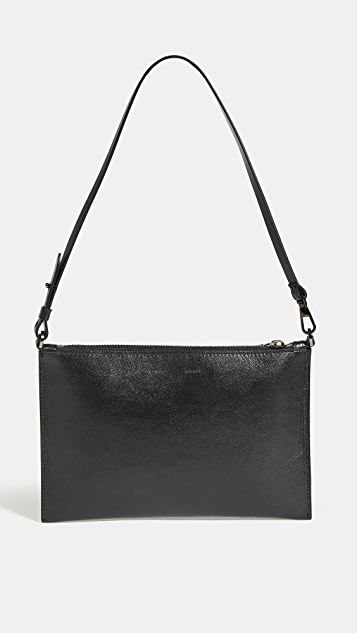 Off-White Flat Pochette Shoulder Bag