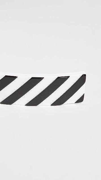 Off-White Diag 发夹