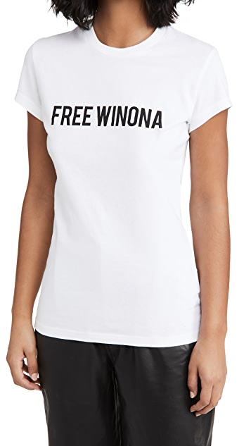 Off-White Winona Fitted Tee