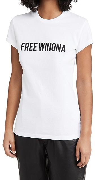 Off-White Winona 合身 T 恤