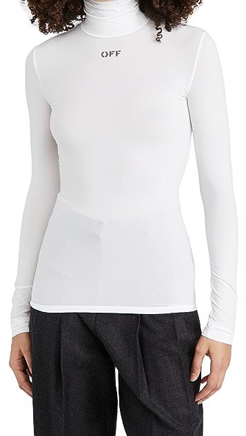 Off-White 高领上衣