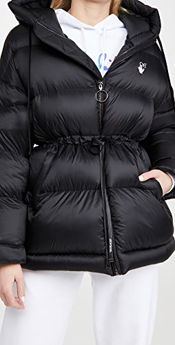 Off-White - Belted Puffer Coat