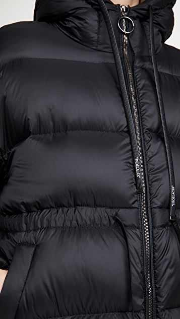 Off-White Belted Puffer Coat