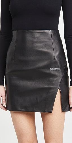 Off-White - Side Split Miniskirt