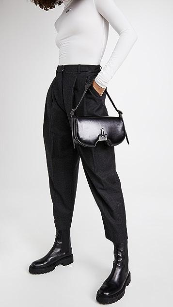 Off-White Swiss Flap Bag