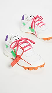Off-White Leather Mountain Cleats