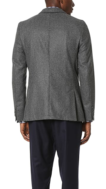 Officine Generale Patch Pocket Felt Jacket