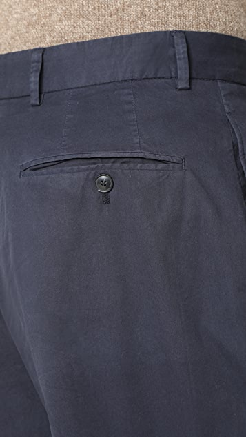 Officine Generale French Pleat Pants