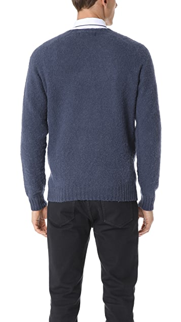 Officine Generale Soft Shetland Sweater