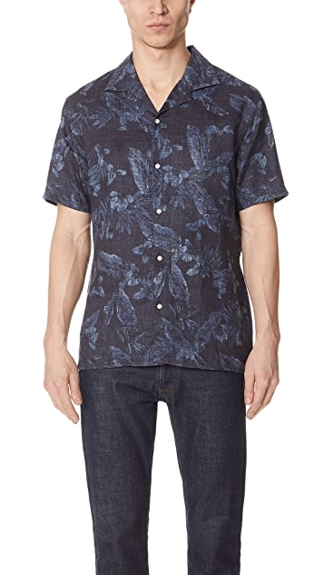 Officine Generale Dario Print Shirt