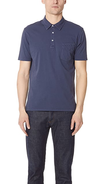 Officine Generale BD Polo Shirt