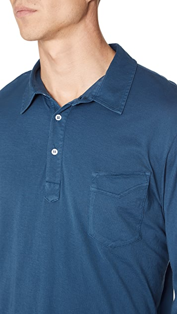 Officine Generale Ice Touch Polo Shirt