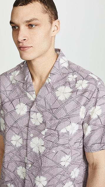 Officine Generale Dario Seersucker Shirt