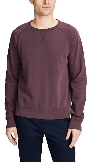 Officine Generale Clement Pigment Dyed Sweatshirt