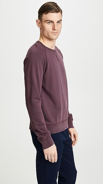 Officine Generale Clement Pigment Dyed Sweatshirt