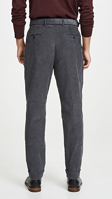 Officine Generale Pierre Pigment Dyed Corduroy Trousers
