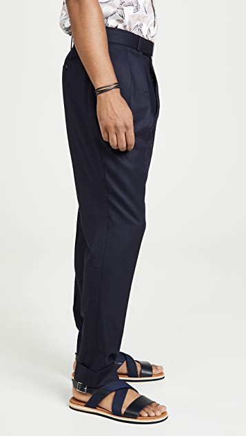 Officine Generale Pierre Flannel Trousers