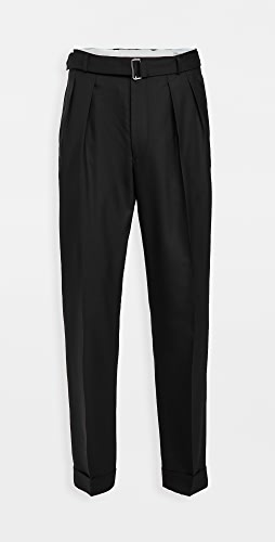 Officine Generale - Pierre Pleated Fresco Wool Pants