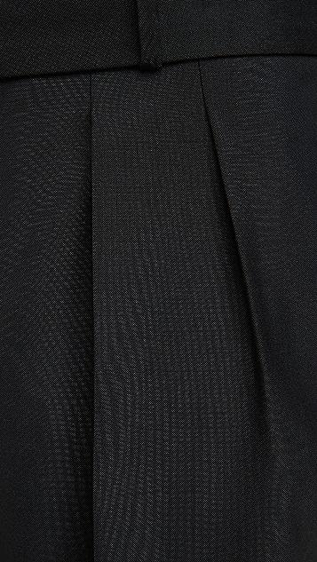 Officine Generale Pierre Pleated Fresco Wool Pants