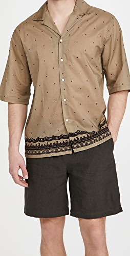 Officine Generale - Eren Piping Cotton Shirt