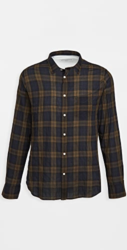 Officine Generale - Lipp Madras Plaid Shirt