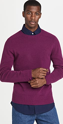 Officine Generale - Soft Seamless Crew Neck Sweater