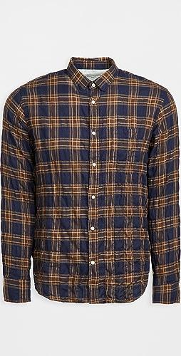 Officine Generale - Lipp Wrinkle Check Shirt