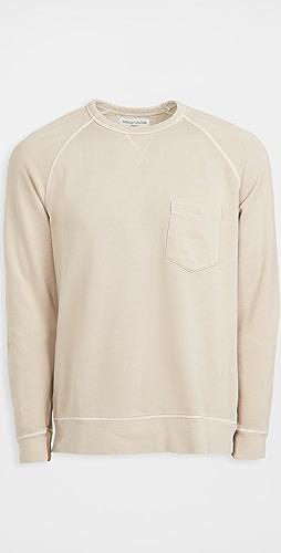 Officine Generale - Chris Crewneck Fleece Sweatshirt
