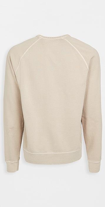 Officine Generale Chris Crewneck Fleece Sweatshirt