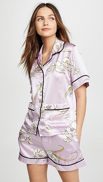 Olivia von Halle Millicent Pajama Set  9ee4f1ebe