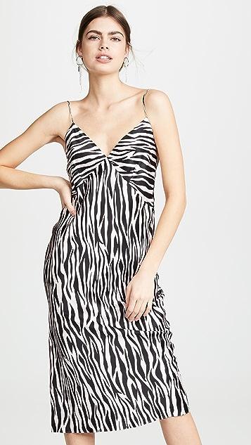 Olivia von Halle Issa Slip Dress