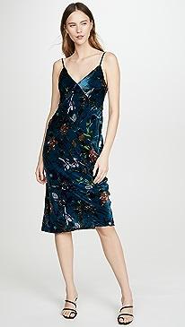 Issa Velvet Dress