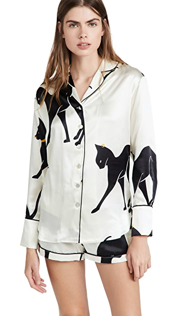 Olivia von Halle Alba Pajama Set