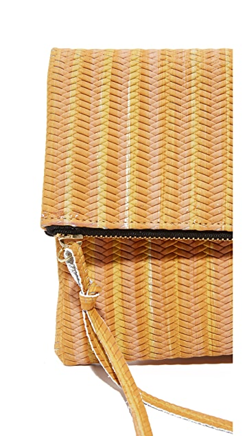 Oliveve Woven Clutch