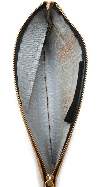 Oliveve Woven Clutch